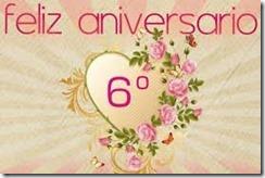 Feliz Sexto Aniversario