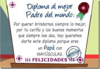 Felicidades Papa 3